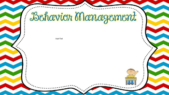 Open House PowerPoint Primary Chevron Editable