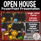 Back to School: Open House Editable PowerPoint Template
