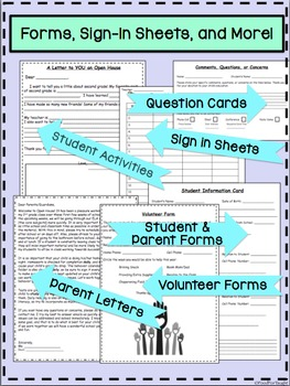 Open House PowerPoint and Forms (Editable)