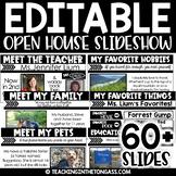 Meet the Teacher Slideshow Template   Open House PowerPoint   Google Classroom