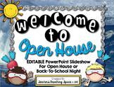 Ocean Themed Open House PowerPoint --- EDITABLE PowerPoint Presentation