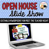 Open House Powerpoint Presentation for Meet the Teacher Night