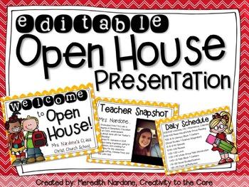 Open House Presentation EDITABLE