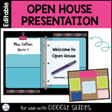 Open House | Back to School Night | Distance Learning