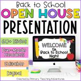 Open House Presentation | Google Slides | Distant Learning
