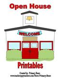 Open House Printables (Editable)