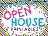 Open House Printables