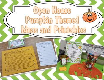 Open House Printables Pumpkin Themed