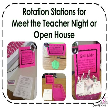Back to School Rotation Stations