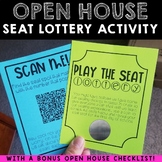 Open House Seat Lottery Activity