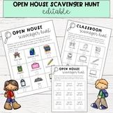 Open House Scavenger Hunt {Editable}