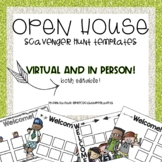 Open House Scavenger Hunt Templates