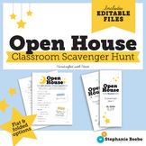 Open House Scavenger Hunt Templates // Editable files in different layouts