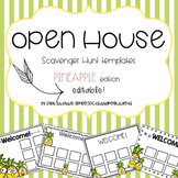 Open House Scavenger Hunt Templates: Pineapples
