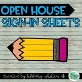 Open House Sign-In Sheets