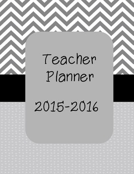Free Teacher Planner and Data Binder Cover
