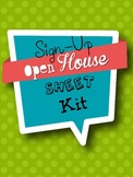 {Open House} Sign-Up Sheet Kit