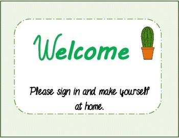 Open House | Cactus theme