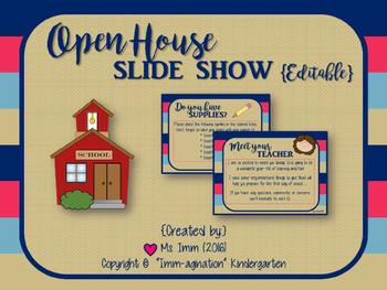 Open House PowerPoint {Editable}