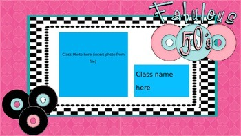 Open House Slideshow - Sock Hop Theme