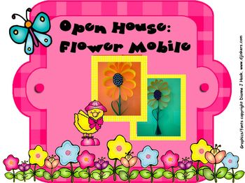 Open House: Spring Flower Mobile