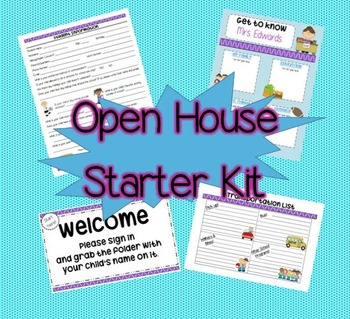 Open House Starter Kit