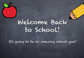 Open House Starter Pack: Welcome Back to School!