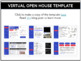 Open House Station Signs & Forms: Editable Files