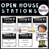 Open House Stations - EDITABLE!