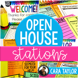 Open House Stations and Forms ~ Editable!