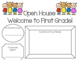 Open House Student Activity