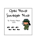 Open House: Student-Led Scavenger Hunt