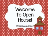 Open House Supply Signs