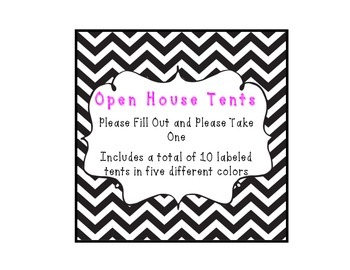 Open House Tents