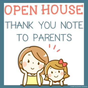 Open House Thank You