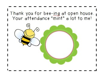 Open House Thank You Cards