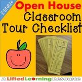 Open House Tour Checklist