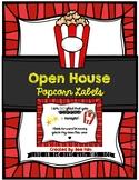 Open House Treat (Popcorn Labels)