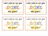 Open House Watch you SHINE gift tags