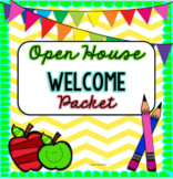 Back-to-School! Open House: Welcome, Volunteer, Sign-In & Student Activity Page