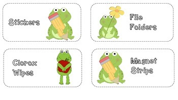 "Open House ""Frog"" Wish List"