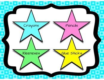 Open House: Wish List ~ Stars