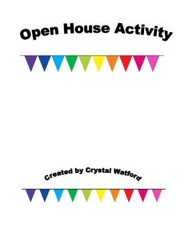 Open House activity