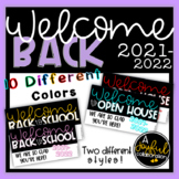 Open House and Back to School Night Slides for Powerpoint