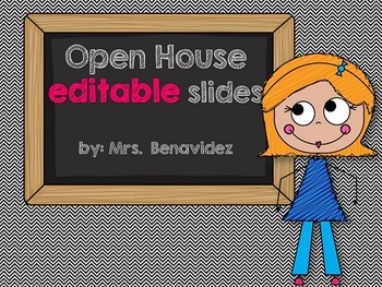 Open House editable slides