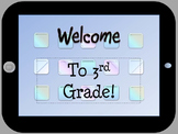 Open House iPad Themed Powerpoint Template (no clipart)