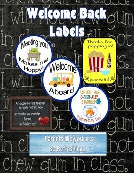 Open House labels