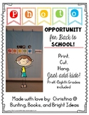 Open House or Back to School Grade Level Photo Booth Banners {Just add kids!}