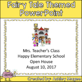 Open House or Back to School PowerPoint Presentation Fairy