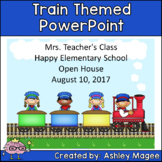 Open House or Back to School PowerPoint Presentation - Tra